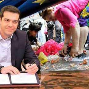 Οι υποτακτικοί των τοκογλύφων καταδικάζουν δύο γενιές Ελλήνων μέχρι το 2060 στην κόλαση τωνΜνημονίων