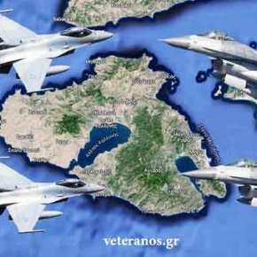 Τα Τούρκικα F-16 ενεπλάκησαν σε εμπλοκές (3) και το Κατασκοπευτικό CN-235 σε Παραβιάσεις (20) στοΑιγαίο!