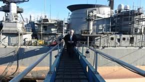 Επίσκεψη Δ.Βίτσα στα ναυπηγεία Σκαραμαγκά και Ελευσίνας(φωτό)