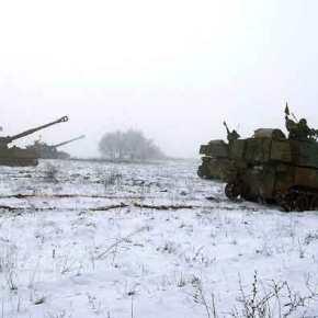 Βγήκαν για Βολές τα Παλληκάρια της 50 Μ / Κ ΤΑΞ « ΑΨΟΣ » στο ΧιονισμένοΈβρο!