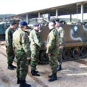 Σε Φυλάκια της ΕλληνοΑλβανικής Μεθορίου ο Διοικητής της 1ΗΣΣτρατιάς!