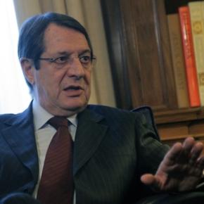 Αναστασιάδης: «Θέλουμε την Κύπρο χωρίς στρατεύματα καιεγγυήσεις»