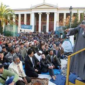 200 χρόνια μετά και πάλι η πράσινη σημαία του Ισλάμ στον Αθηναϊκό ουρανό: Σε λίγους μήνες θα είναι έτοιμο το τζαμί στονΒοτανικό!