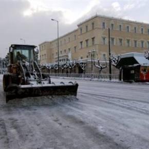 Η κακοκαιρία θα συνεχιστεί μέχρι την Πέμπτη – Δείτε που θα έχουμε χιονοπτώσεις καισήμερα