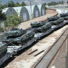 Έξαλλοι οι Γερμανοί – Η Τουρκία ξεφτιλίζει την αξιοπιστία των αρμάτων Leopard- 2A4 στην Συρία – «Λαμπαδιάζουν» από τους ρωσικούς αντιαρματικούς πυραύλουςkornet