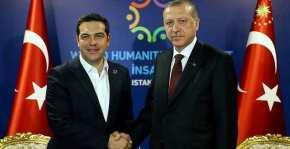 Τηλεφωνική επικοινωνία Τσίπρα – Ερντογάν για τοΚυπριακό