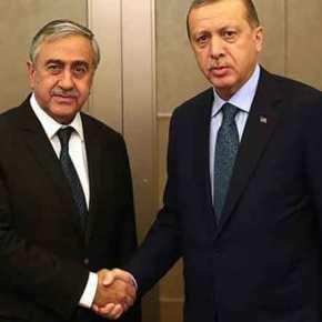 """Ο Ερντογάν κατέβασε από τα """"συννεφάκια"""" τους αιθεροβάμονες της """"λύσης"""" τουΚυπριακού"""