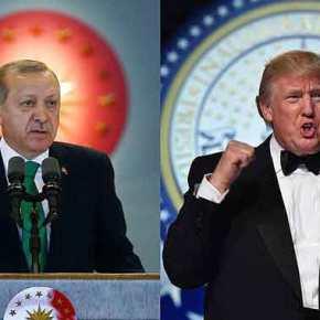 Το πρώτο απειλητικό μήνυμα του Ερντογάν στον Τραμπ – Μαύρα σύννεφα στις σχέσειςΗΠΑ-Τουρκίας