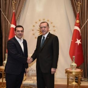 Δεν θα υπάρξει συνάντηση Τσίπρα – Ερντογάν πριν τη Γενεύη -«Δεν υπάρχουν οι προϋποθέσεις» σύμφωνα με τηνκυβέρνηση
