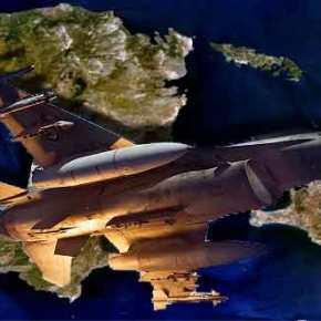 Σκληρές αερομαχίες στη Χίο μεταξύ ελληνικών και τουρκικών μαχητικών αεροσκαφών – Παραβιάσεις στο Αιγαίο από τουςΤούρκους