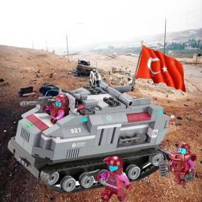 «Σκόνη και θρύψαλα» τουρκικά άρματα μάχης και 5 νεκροί σε επίθεση του ISIS στηνΣυρία