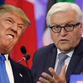 Δηλώσεις Τραμπ περί «ναζιστικής Γερμανίας» αφήνουν άφωνο τον Φρανκ-ΒάλτερΣταϊνμάιερ!