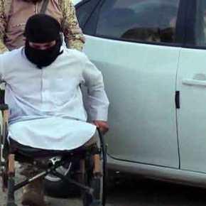 Τζιχαντιστές σε αναπηρικά καροτσάκια ζωσμένοι με εκρηκτικά σκορπούν το θάνατο(βίντεο)