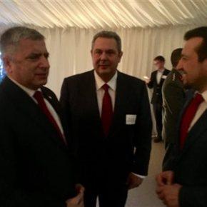 Mε στελέχη της κυβέρνησης Τραμπ συναντήθηκε ο Π.Καμμένος