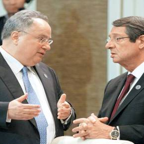 ΑΓΡΙΟΣ ΚΑΒΓΑΣ ΤΩΝ ΔΥΟ ΑΝΔΡΩΝ ΣΤΗΝ ΓΕΝΕΥΗ Ο Ν.Κοτζιάς τα «έσυρε» στο Ν.Αναστασιάδη που αρνήθηκε την ιδιότητα του προέδρου της Κύπρου – «Έχεις ιστορικέςευθύνες»