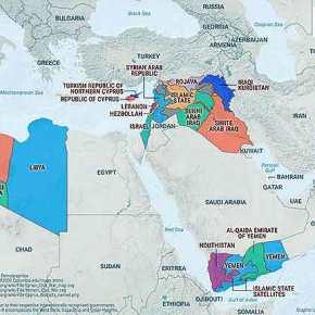ΓΕΩΠΟΛΙΤΙΚΟ ΝΤΟΜΙΝΟ: Οι τέσσερις αιτίες πολέμου που μπορεί να αλλάξουν τα σύνορα το 2017(Χάρτες)
