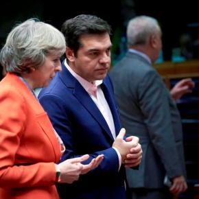 «ΜΠΑΡΑΖ» ΕΠΑΦΩΝ ΜΕ ΕΥΡΩΠΑΙΟΥΣ ΗΓΕΤΕΣ ΤΙΣ ΕΠΟΜΕΝΕΣ ΗΜΕΡΕΣ -Τη στήριξη της Βρετανίας για δίκαιη λύση στο Κυπριακό ζήτησε από την Μέι οπρωθυπουργός