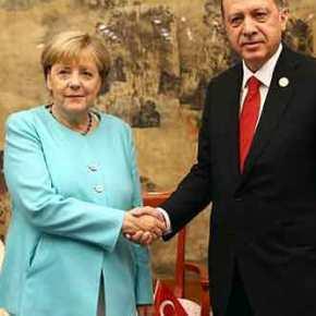 """Η Μέρκελ θέλει να """"πουλήσει"""" την Κύπρο στον Ερντογάν! Γερμανικές πιέσεις για""""λύση"""""""