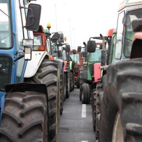Οι αγρότες κλείνουν επ΄αόριστον το ΤελωνείοΕυζώνων