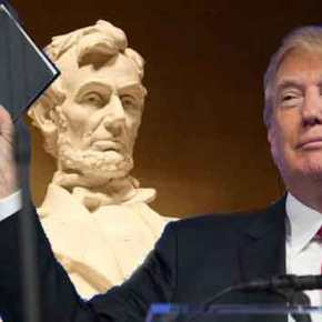 Ο Ν. Τραμπ θα ορκιστεί στην Bίβλο που χρησιμοποίησε και ο Αβραάμ Λίνκολν(φωτό)
