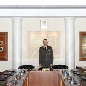 Συνεδρίασε το Ανώτατο Στρατιωτικό Συμβούλιο-Φωτογραφίες.