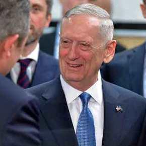 Επαφή Καμμένου με τον νέο υπουργό Άμυνας των ΗΠΑ ΤζέϊμςΜατίς
