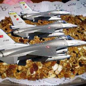Ανάποδα μπήκαν σήμερα τα Τούρκικα F-16 …Αλλά πάλι το ξύλο δεν τογλύτωσαν!