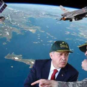 """Οι Τούρκοι μας """"κατηγορούν"""" για δειλία αλλά πετάνε…στη στρατόσφαιρα τουΑιγαίου!"""