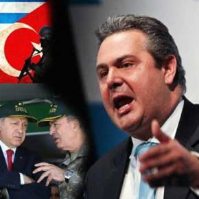 «Αιφνιδιαστική επίθεση κατά της Τουρκίας σχεδίαζε ο Π.Καμμένος» λένε οιΤούρκοι!