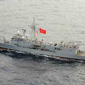 H Άγκυρα προκαλεί: Έβγαλε στο Αιγαίο το ερευνητικό σκάφος TCG Çeșme επάνω στην ελληνική υφαλοκρηπίδα (φωτό &βίντεο)
