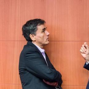 Παρασκήνιο συμβιβασμού και απειλή με ΔΝΤ ενόψει του Eurogroup της Δευτέρας -Μάχη με τον χρόνο, προκειμένου να καταγραφεί πρόοδος στο Eurogroup της Δευτέρας, δίνουν οι εμπλεκόμενοι στο ελληνικόπρόγραμμα.