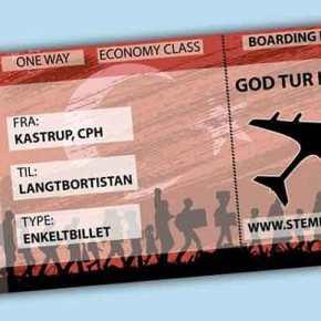 Στη Δανία μοιράζουν «εισιτήρια» χωρίς επιστροφή σεμετανάστες
