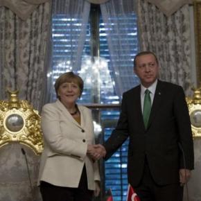 Στην Αγκυρα η Μέρκελ: Η «δύσκολη» συνάντηση με τονΕρντογάν