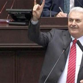 """Η Τουρκία στα χέρια των εθνικιστών με πρωθυπουργό """"γκρίζο λύκο""""!ΒΙΝΤΕΟ"""