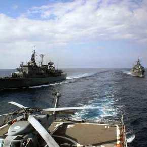 Στα Μουλωχτά βγήκε ο μισός Στόλος στο Αιγαίο (video)…Άσχετα τι λένε στοΓΕΝ!