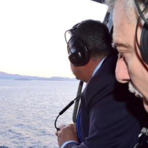 """Πως έφθασε το ελικόπτερο με τον Καμμένο στα Ίμια! Πως οι Τούρκοι δεν πήραν""""μυρουδιά"""""""