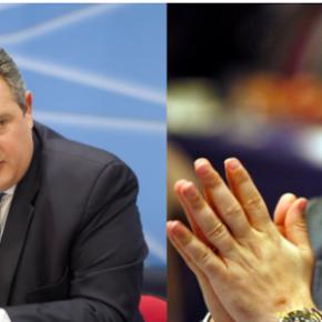 Καμμένος-Γεωργιάδης: Κι όμως μιλάνε απ΄ευθείας για τα σοβαρά της Άμυνας!Ευτυχώς…