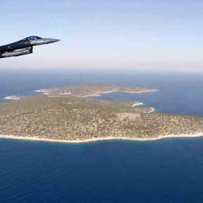 EKTAKTO: Eικονικός βομβαρδισμός του ελληνικού φυλακίου στο Φαρμακονήσι από τουρκικάμαχητικά
