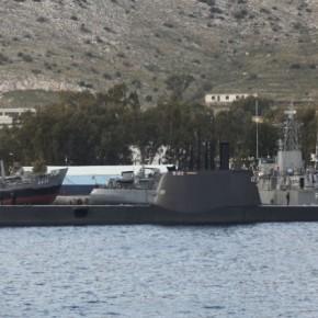 Σαλαμίνα: Σύλληψη Τούρκου ναυτικού γιακατασκοπία