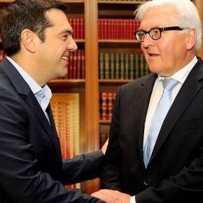 ΣΥΓΧΑΡΗΤΗΡΙΟ ΜΗΝΥΜΑ ΣΤΟ TWITTER Τσίπρας: Η εκλογή Σταϊνμάιερ αποτελεί μήνυμα ελπίδας καιενότητας