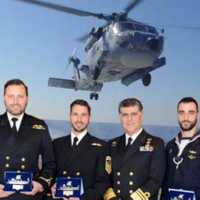 Βραβεύτηκαν οι Άριστοι των Αρίστων …Το πλήρωμα του «ΠΝ-35 S70B AegeanHawk»