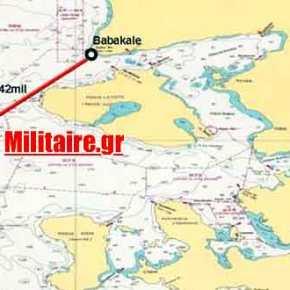 Οι Τούρκοι έκαναν έρευνα διάσωση δυτικά της Λέσβου! Επίδειξηδύναμης