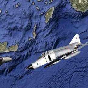 Σε «θερμό» επεισόδιο σπρώχνει η Άγκυρα: Αιφνιδιαστικές αεροναυτικές ασκήσεις νότια του Καστελόριζου σε περιοχή εντός του FIR Αθηνών(βίντεο)