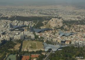 ΗΝΙΟΧΟΣ 2017: Ισραήλ, ΗΠΑ, Ελλάδα, ΗΑΕ, Ιταλία σε αεροπορική άσκηση στο FIR ΑθηνώνΦωτογραφίες.