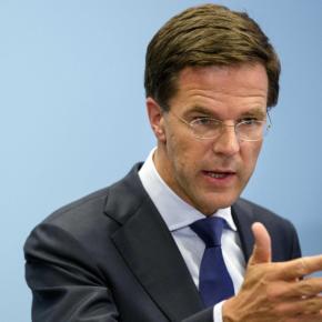 Ολλανδός πρωθυπουργός: «Η Τουρκία να ζητήσει συγγνώμη, όχιεμείς»