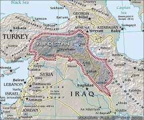 Οι ΗΠΑ διχοτόμησαν ήδη την Τουρκία με κινήσεις ματ – Αυτά είναι τα σύνορα του Κουρδιστάν – Πώς θα απαντήσει ο Ρ.Τ.Ερντογάν; – Δείτε βίντεο καιεικόνες