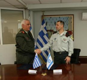 Ελλάδα – Ισραήλ: Υπογράφηκε πρόγραμμα αμυντικής συνεργασίας –ΦΩΤΟ