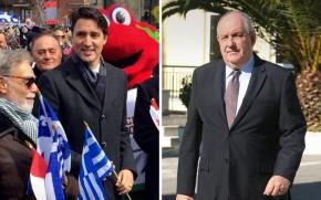 Κουίκ: Εξαιρετικές οι διακρατικές σχέσεις Ελλάδας-Καναδά -«Ένας πραγματικός φιλέλληνας ο ΤζάστινΤριντό»
