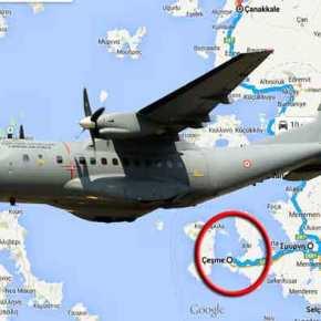 Επιστροφή στις ψυχροπολεμικές σχέσεις: Τουρκικό CN-235 αναζητά ρωσικά πυρηνοκίνητα υποβρύχια στο ΣτενόΧίου-Τσεσμέ!