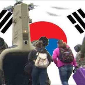 Oι Αμερικάνοι τα μαζεύουν και φεύγουν από τη Ν Κορέα…!!